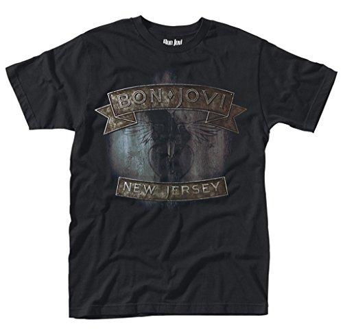 Jon Bon Jovi New Jersey Rock offiziell Männer T-Shirt Herren