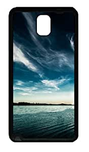 Galaxy Note 3 Case, Note 3 Cases - Out On The Water Soft Rubber Bumper Case for Samsung Galaxy Note 3 N9000 TPU Black