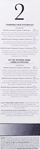 Nioxin System 2 Starter Kit Cleanser Scalp Therapy Scalp Treatment 1 Set Cleanser 300mL 101 FL OZ Scalp Therapy 150 ML 507 FL OZ Scalp Treatment 100mL 338 FL OZ