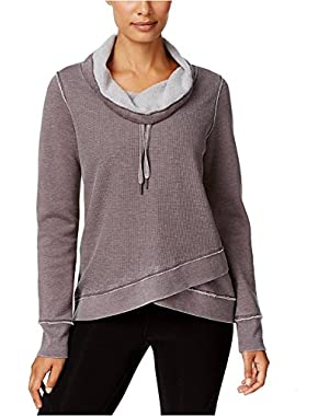 Performance Women's Cowl-Neck Crossover Sweatshirt