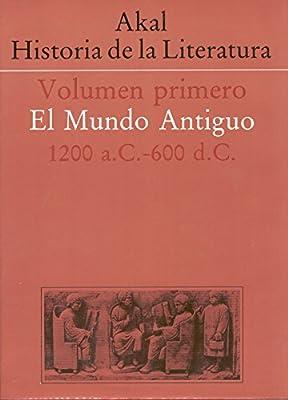 Historia de la literatura I: 1: Amazon.es: VV AA: Libros