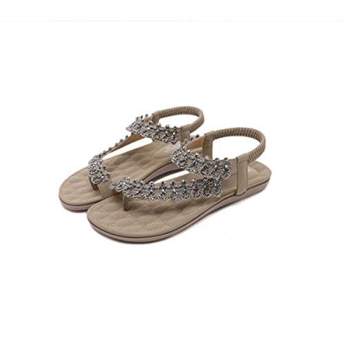 28baa845 Ruanlei@Sandalias/Sandalias de Playa Para Mujer/Sandalias y  chanclas/Sandalias planas