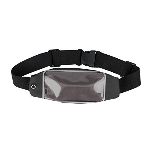 andyhandyshop Bauch-Gürtel-Schulter-Lauf-Tasche für Sharp Aquos Crystal Y b4YaXKzdo