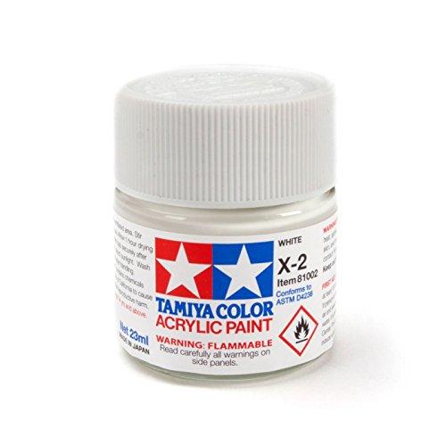 Tamiya America, Inc Acrylic X2 Gloss,White, TAM81002