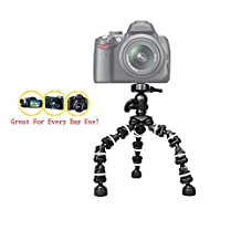 "The Pro Extreme 13"" Flexible Tripod Casio Exilim EX-100 camera, 13 inch tripod - w/ Heavy duty Sturdy Grip - Flexible Legs - 360 pan - Every Day Use!"