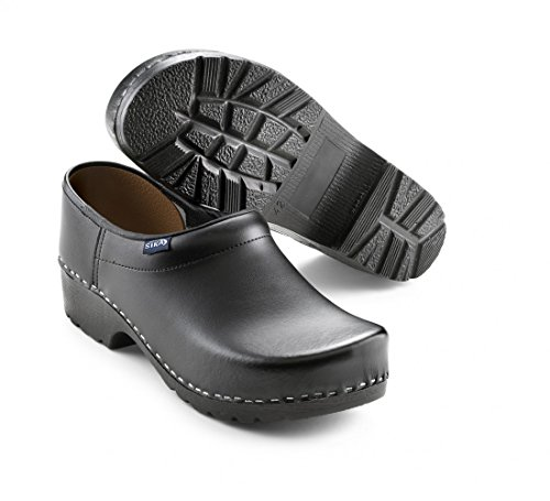 Sika Footwear Traditionell Arbeits-Clogs schwarz | 45