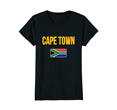 Womens Cape Town T-shirt South Africa Large - Women Africa South