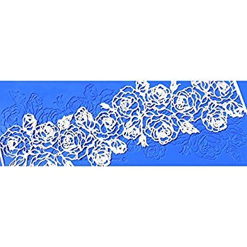 Santa Rosa Silicone Lace Mat by Crystal Candy ()