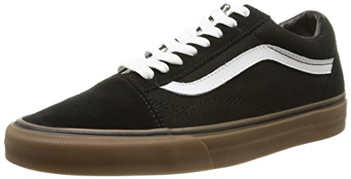 039dbd2bdf0 Vans Unisex Old Skool (Gumsole) Black Medium Gum Skate Shoe 8 Men US