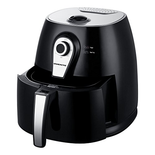Ovente 3.2 QT Multi-function Air Fryer, 1400W with FREE