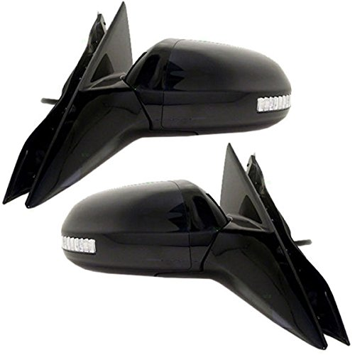 Power Heat Signal Lamp Folding Mirror Left Right Side SET PAIR For 09-14 Maxima Aftermarket Auto Parts