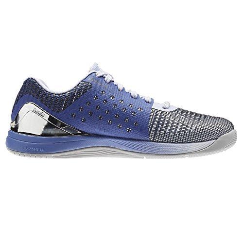 Reebok Women's Crossfit Nano 7.0 Track Shoe, Lilac/Silver, 9 B(M) US