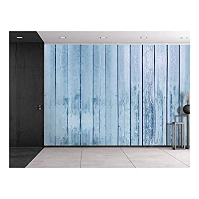 Delightful Expert Craftsmanship, Made to Last, Grayish Blue Wooden Fences Panels Wall Mural