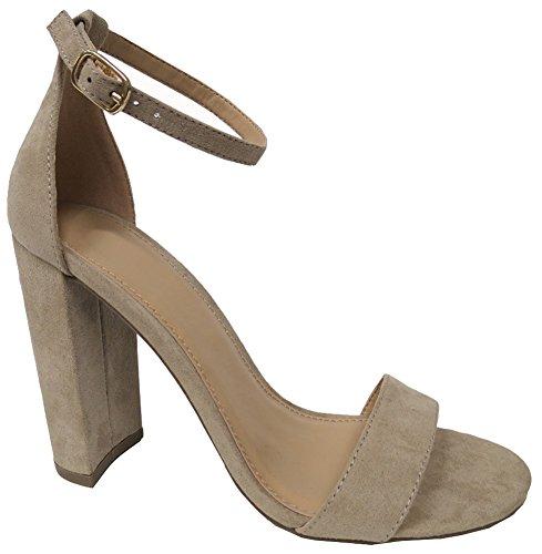 Cambridge Select Donna Open Toe Cinturino Alla Caviglia Con Cinturino Alla Caviglia Con Cinturino Alla Caviglia