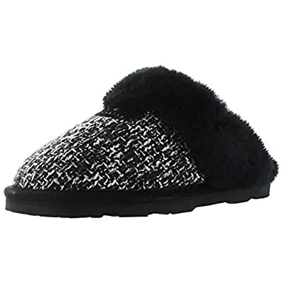 BEARPAW Women's Paulette Sheepskin Slip On Slippers