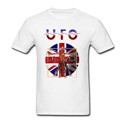 SDAKGF Men's UFO Band Rock UK T Shirt XXXL