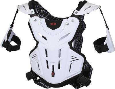 EVS F2 Roost Guard , Distinct Name: White, Size: XL, Primary Color: White, Gender: Mens/Unisex F2WH-X by EVS