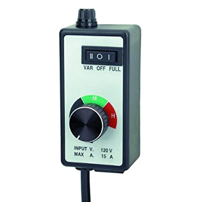 Variable Dial Router Fan Speed Controller for Duct and Inline Fans