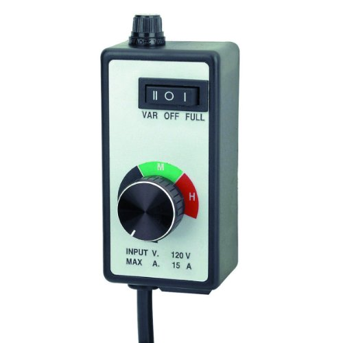 Variable Dial Router Fan Speed Controller for Duct and Inline Fans ()