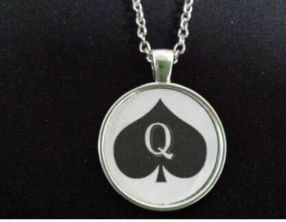 SPADES Necklace Pendant Jewelry Hotwife