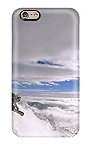EXzYLIQ4991bGZHl Powder Turns Snow Mountain Kids Jackets Dresses Shoes Vacations Season Coats Fall Flowers Santa Clau Nature Winter Awesome High Quality Iphone 6 Case Skin