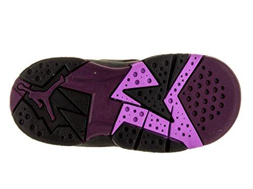 Nike Jordan Peuters Jordan 7 Retro Gt Zwart / Fchs Glow / Mulbrry / Wlf Gry Basketbalschoen 10 Zuigelingen Ons