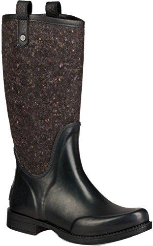 Ugg Womens Stefana Rain Boot Black