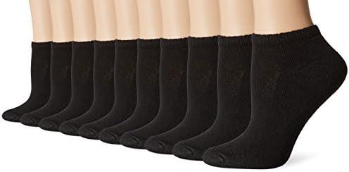 Hanes womens Comfort Blend Low Cut Sock, 10-pack