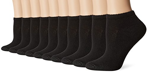Hanes-Womens-Low-Cut-Cushioned-Athletic-Sock-Pack-of-10