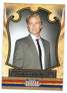 John Schneider trading card (Dukes of Hazzard Bo Duke, Smallville) 2011 Panini Americana #10