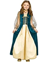 Girls Renaissance Juliet Child Costume