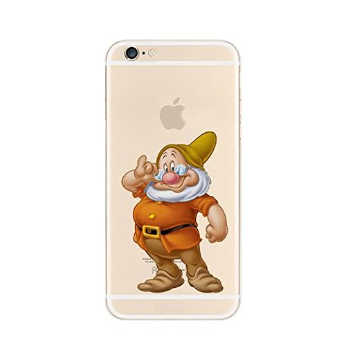 New Disney Seven Dwarfs Clear TPU Soft Case For Apple iPhone 7 Plus DOC