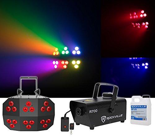 Chauvet DJ Wash FX 2 DMX RGB+UV Eye Candy Effect Dance Floor Wash (Rgb Wash)