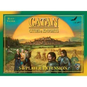 Cities and Knights of Catan 5-6 Player Extension (Settlers of Catan Expansion) [Toy]