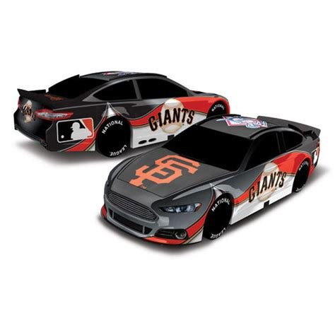 - Baseball 1:18 Scale Racing Stock Car (Giants)