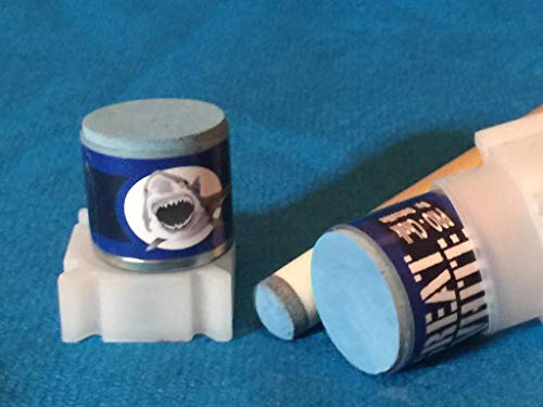 - Accu-Rack Great White Outsville Billiards Pool Cue Chalk Refill (2-Pack) - THRESHER Blue