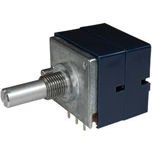 "ALPS 1M log RK27112 estéreo Potenciómetro rotatorio 1MDx2 Ohm logarítmica ""La Azul"" 6mm"