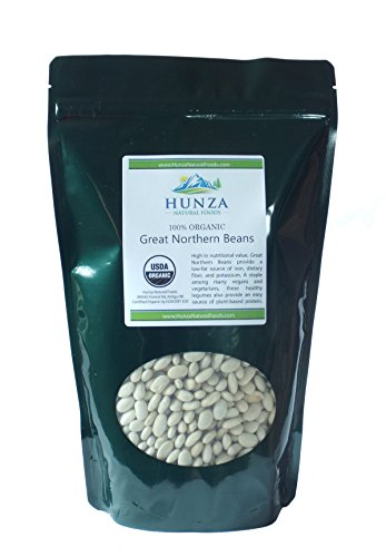 Hunza Organic Great Northern Beans (2 lbs)