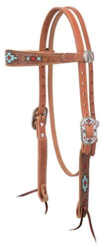 (Weaver Leather Native Spirit Browband Headstall)
