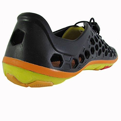 Vivobarefoot Womens Ultra II Water Shoe Black / Yellow Nd9ebASxoX