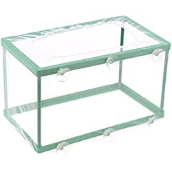 Uxcell Fish Tank Aquarium Net Breeder, White Green