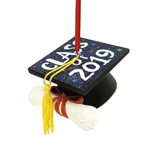 HMK Hallmark Graduation Cap Dated 2019 Tree Trimmer Ornament