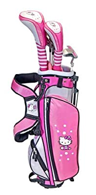 Hello Kitty Golf Junior Set, Pink/Black/White