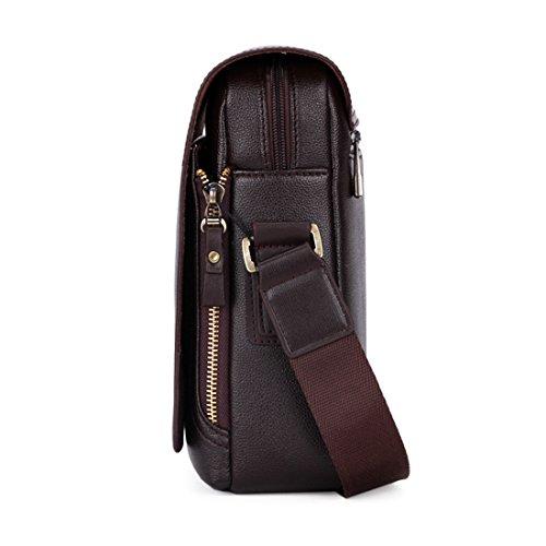 hombre VICUNA marrón Bolso hombro para negro 19 7cm negro POLO 17 al rrp1Xq
