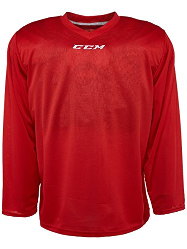 CCM 5000 Series Hockey Practice Jersey - Senior - Red, Large