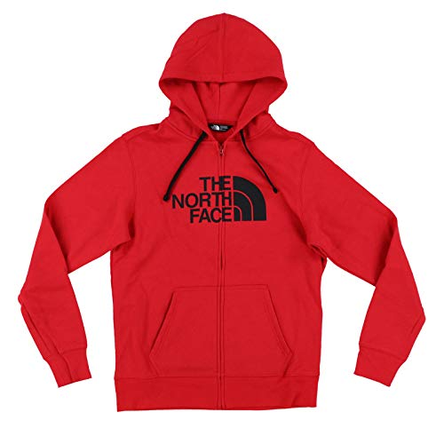 (The North Face Mens Half Dome Zip Up Hoodie (X-Large, TNF Red))