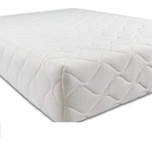 Crib Mattress with Waterproof Quilted Removable and Breathable Cover for Bedside Cot, Crib or Cradle - Anti Fungal - 85cm x 45cm x 5cm