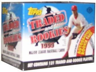 1999 Topps Baseball Traded and Rookies Set