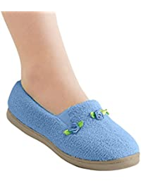 Rosette Slippers