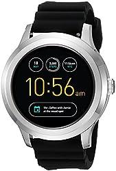 Fossil Q Founder Gen 2 Black Silicone Touchscreen Smartwatch Ftw2118
